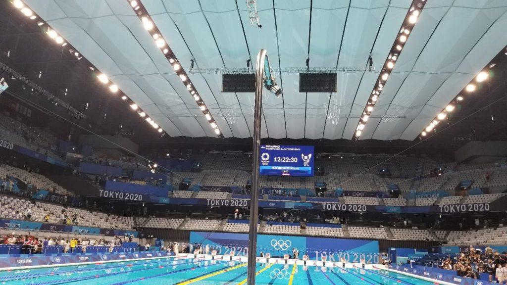 東京2020オリンピックの水泳競技会場
